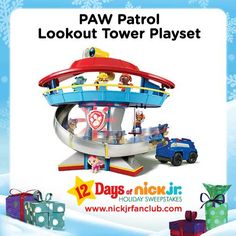 Pup-tastic gift idea: the PAW Patrol Lookout Tower Playset!