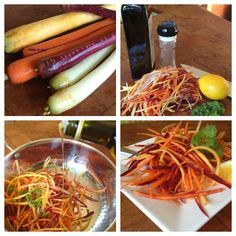 Carrots: Nutritional Powerhouse Try this with some carrot diversity by choosing different varieties of this familiar Healthy Diet Tips, Healthy Foods To Eat, Healthy Smoothies, Healthy Eating, Carrot Recipes, Veg Recipes, Healthy Recipes, Carrot Slaw, Start A Diet