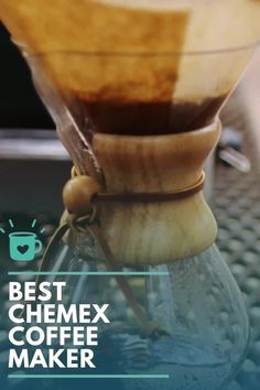 Thinking of Buying A Chemex? It May Be The Best Coffee Purchase You Ever Make...Or The Worst! Read Our Review Chemex Coffee Maker, Pour Over Coffee Maker, Coffee Maker Reviews, Best Coffee Maker, Cold Brew Coffee Recipe, Coffee Health Benefits, Bulletproof Coffee, Coffee Type, Coffee Humor