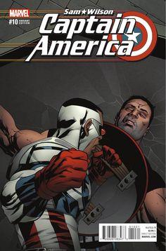 Preview: Captain America: Sam Wilson #10, Story: Nick Spencer Art: Angel Unzueta Cover: Daniel Acuna