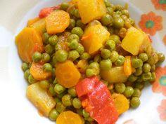 Come to cook: Αρακας στη χυτρα Fruit Salad, Food, Fruit Salads, Essen, Meals, Yemek, Eten