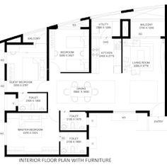 Casas modernas por Dutta Kannan architects