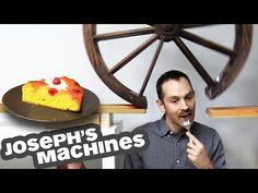 It lets him keep eating, with no break before cake. It's the most complex and entertaining Rube Goldberg machine I've seen yet and took him 3 months to make so I hope you enjoy it! Don't miss the cute baby eating cake. Brain Break Videos, Etre Patient, Ron Clark, Broken Video, Smiths Bakery, Rube Goldberg, Brain Breaks, Cake Servings, Wonderful Things