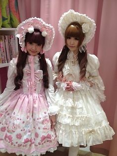 Misako Aoki in the Angelic Pretty store - adorable!