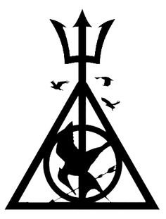 Hunger Games, Percy Jackson, Divergent, and Harry Potter