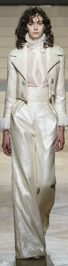 Spring 2019 Haute Couture Ashi Studio Ashi Studio, Eye Details, All White, Evening Gowns, Beautiful Dresses, Spring Fashion, Cocktail Outfit, Elegant, My Style