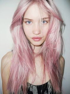 Candyfloss hair.  It's too early to pinpoint why I like this...but I do.
