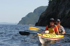 Sea kayaking in the Saguenay Fjord in Quebec St Jean Baptiste, Canada Travel, Canada Trip, Lac Saint Jean, Fjord, Canadian Rockies, 2 In, Kayaking, Vacation