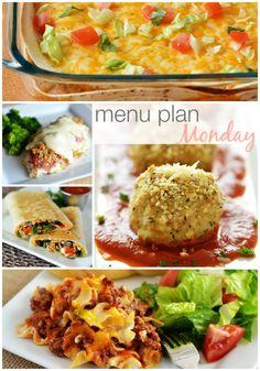 Menu Plan Monday #54
