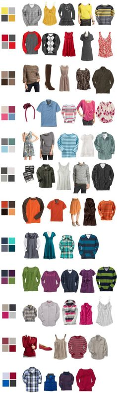 What to Wear for Fall Family Portraits: Use a color pallet, but don't go matchy-matchy. Only babies belong in light colors. Family Picture Colors, Family Picture Outfits, Fall Family Photos, Family Pictures, Fall Photos, Christmas Photos, Art Pictures, Family Photo Sessions, Family Posing