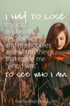 What is keeping me from seeing who I truly am? #choosejoy #choosejoybook