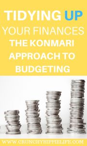 Using the KonMari method to budget better and save more money