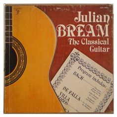 Julian Bream – The Classical Guitar – Box Com 3 Lp's Importado