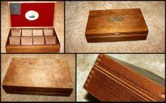 Vintage Sir Thomas J. Lipton's Specialty Teas Wooden Tea Box Chest Wooden Tea Box, Lipton, Wow Factor, Wow Products, Teas, Electronics, Vintage, Tees, Cup Of Tea