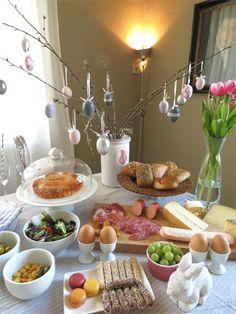 easter Brunch decoration - Decoración para un brunch en semana santa