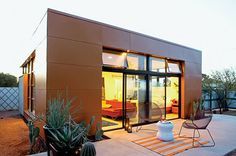 Architect Rocio Romero designs prefabs that range from 625 sq ft up. See her site:   www.rocioromero.com . Very cool and affordable.