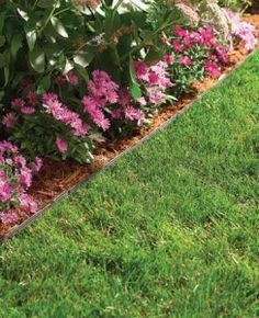 1000 images about permaloc aluminum edging products on for No maintenance flower bed