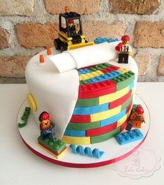 Bolo Lego: 50 Ideias de Decoração Incríveis para a Festa Bolo Lego, Cake, Desserts, Decorating Ideas, Cakes, Party, Pastel, Deserts, Kuchen