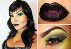 50 Halloween Hair and Makeup Tutorials - Girl Loves Glam