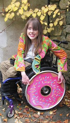 #Lovezillion! Stylish Wheelchairs created by two sisters in Ireland. We create stylish spoke guards for wheelchairs.