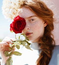 "for-redheads: ""Larsen Thompson by Bonnie Nichoalds | Lucy's Magazine """