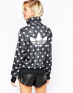 adidas Originals Polka Dot Track Jacket