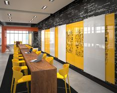 Find inspiration for your next design project in our glassboard gallery. Discover custom glass whiteboard solutions with endless design options. Office Space Design, Modern Office Design, Workplace Design, Office Interior Design, Corporate Design, Corporate Interiors, Office Interiors, Co Working, Commercial Interiors
