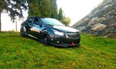 Lowered Cruze Chevrolet Cruze, First Car, Jaba, Cars And Motorcycles, Super Cars, Chevy, Sailing, Truck, Bike