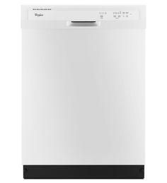 Standard Dishwasher (white) - ENERGY STAR® Qualified Dishwasher With A Soil Sensor