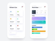 Fitness App Make your own fitness plan and complete each phase.