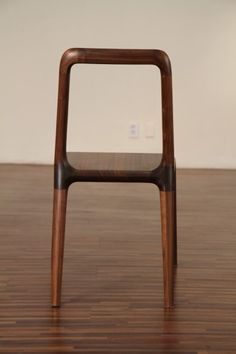 High Quality Size 430 450 800 Sh440 Material Walnut, Natural Oil Finish 곡선가구 Dining  Chair.