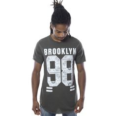 Camiseta Brooklyn 98 Verde - Camisetas - Hombre www.ebolet.com #ebolet #camiseta #urbana #street #chico