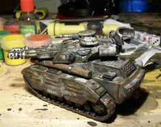 BroneKorpus toy Leman Russ Tank