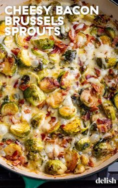 Sprout Bake This Cheesy Brussels Sprout Bake will be a MAJOR crowd pleaser this holiday season.This Cheesy Brussels Sprout Bake will be a MAJOR crowd pleaser this holiday season. Side Dishes Easy, Side Dish Recipes, Dishes Recipes, Recipies, Low Carb Side Dishes, Bread Recipes, Veggie Dishes, Food Dishes, Fall Vegetable Side Dishes