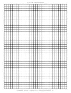 Printable Graph / Grid Paper PDF Templates | Pinterest | Pdf ...