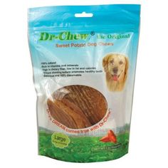 Dr Chew The Original  Large  1 lb 7  10 pieces for dogs over 50 lbs -- Click image to review more details.