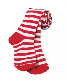 777375762d5 Jefferies Socks Girls Holiday Red White Stripe Tights Candy Cane Costume
