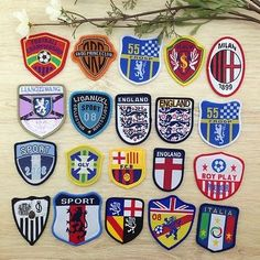 England national team #milan #sport italia #woven badge patch sew on team cloth j,  View more on the LINK: http://www.zeppy.io/product/gb/2/111910377205/