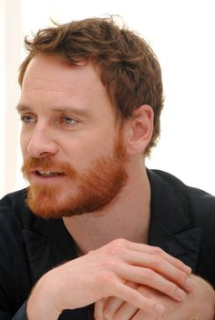 Michael Fassbender, boy, would I love to make out with him.
