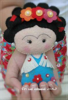 Frida Khalo feltro