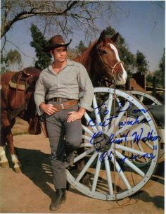 "Clint Walker what a hunk he was!! They certainly don't make men like this now. Clint is  ""one of a kind """