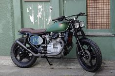 Our transformation of a standard Honda CX500 into this cool Street Scrambler!