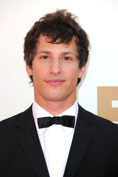 Andy Samberg is such a ham that you might not notice right away how handsome he is.
