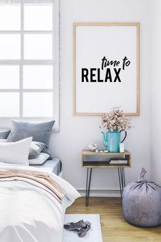 by LinePrintable Living Room Decor, Bedroom Decor, Wall Decor, Master Bedroom, Diy Home Decor Projects, Decor Ideas, Inspirational Posters, Geometric Wall Art, Minimalist Decor
