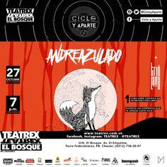 """Ciclo y Aparte presenta: """"Andreazulado + Tripland"""" http://crestametalica.com/events/ciclo-y-aparte-presenta-andreazulado-tripland/ vía @crestametalica"""