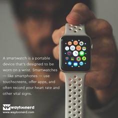 Waytoonerd – Where technology is unraveled Watch Gears, Vital Signs, Smartwatch, New Technology, Apple Watch, Fitbit, Smartphone, Samsung, Facts
