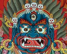 Mahakala – one of the most well-known Dharma protectors within Tibetan Buddhism
