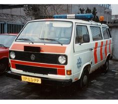Politieauto's Oude Automerken (jaartal: 1980 tot 1990) - Foto's SERC
