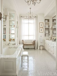 Thomas OBrien...Bathroom Decorating Inspiration: Veranda's Most Memorable Spaces