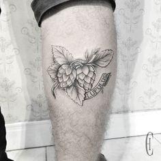 Fresh WTFDotworkTattoo Find Fresh from the Web Lúpulo do meu amigo Jorge seja bem vindo a cidade cinza! #tattoo #blackwork #lupulus chislu WTFDotWorkTattoo